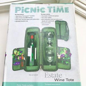 Picnic Time  Estate Wine Tote